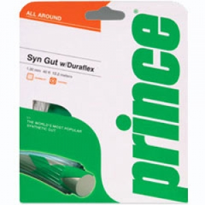 Prince Synthetic Gut DF 1,38mm 12m balta