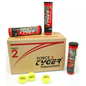 TYGER Force 2, 4 ball can 18-cans ITF patvirtinti